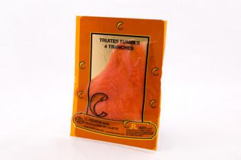TRUITE FUME TRANCHE